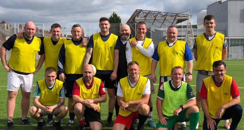 Football fun raises over £1000